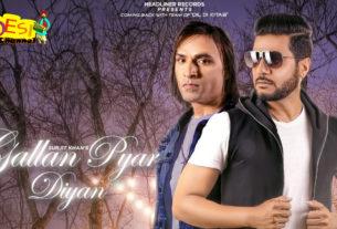 Surjit khan - Gallan Pyar Diya